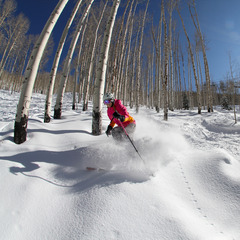 More powder at Powderhorn. - ©Casey Day