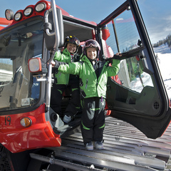 Kids get a close up look during Big Trucks at Kid-O-Rama at Squaw Valley.  - ©Kiwi Kamera