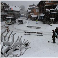 Dumping down in Morzine. Feb. 6, 2013