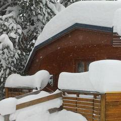 Powder in La Plagne. Feb. 8, 2013