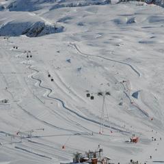 Point neige dans les Alpes du Nord (21/02/2013)