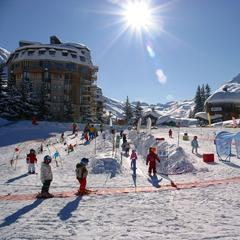 Village des Enfants in Avoriaz, March 5, 2013