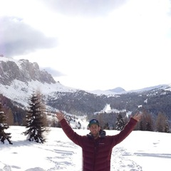 Travis takes in the beauty that is Val Gardena, Italy.