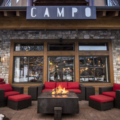 Campo Mammoth is a rustic Italian eatery in the heart of Mammoth.