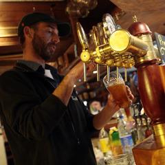Le Pub Irlandais (aux Gets), très apprécié pour l'après-ski entre potes mais aussi pour les concerts live - ©N. Tavernier