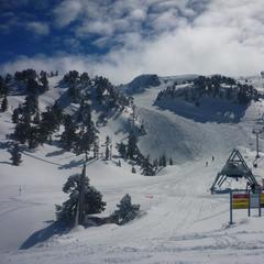 Point neige dans les Pyrénées (14/03/2013)