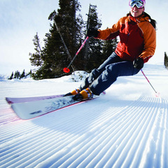 groomed run at Park City - ©Park City Chamber | Convention & Visitors Bureau