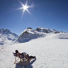 Prendre le temps de profiter, se prélasser au soleil... Vive le ski de Printemps ! - ©Kab