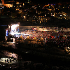 Top of the Mountain end-of-season concert in Ischgl