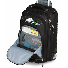 High Sierra Wheeled Carry-On Boot Bag lets you skip the checked baggage line at the airport.