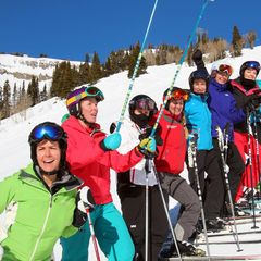 Having fun with Jackson Hole Terra Women's Camp.