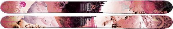 Ski de freeride - Salomon Rockette