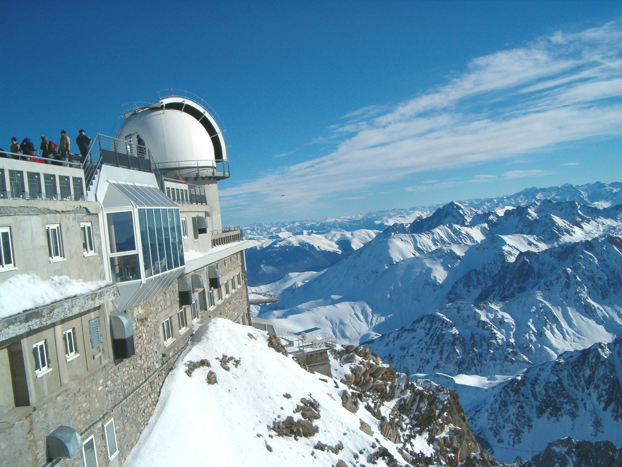 Best ski runs: Far-reaching views from the top of the Pic du Midi