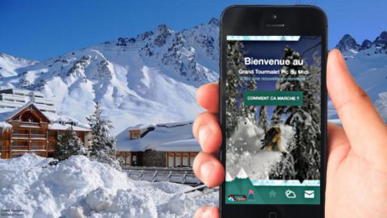 Application pour smartphone #grandtourmalet