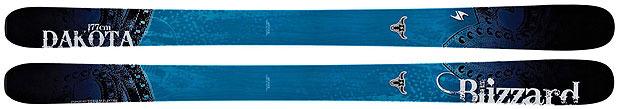 Skis freeride pour femmes 2013 : Blizzard / Dakota