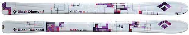 Skis de rando pour femmes 2013 : Black Diamond / Cressent