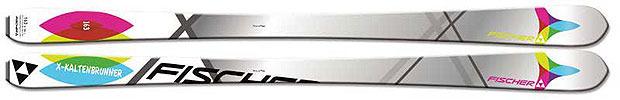 Skis de rando pour femmes 2013 : Fischer / Tour X Gerlinde Kaltenbrunner
