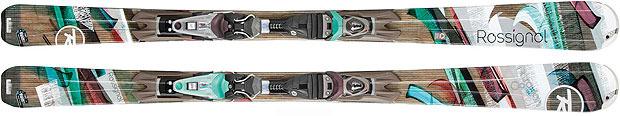 Skis de piste pour femmes 2013 : Rossignol / Attraxion 8 Echo