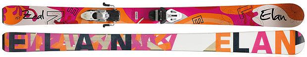 Skis all mountain pour femmes 2013 : Elan / Zeal