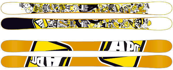 Skis APO SNOW Justin