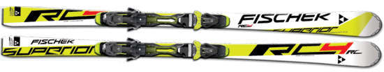 Skis 2013/2014 : le Fischer RC4 SUPERIOR RC