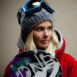 Neun Bilder von Snowboarderin Silje Norendal (NOR) - © Olav Stubberud