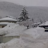 Fresh snow in Italy Jan. 31, 2014