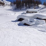 Fresh snow in Italy March 10, 2014