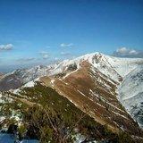 Kateřinský sníh na slovenských horách