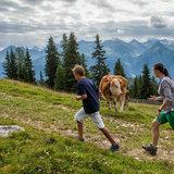 Mit dem Smartphone dem Bären auf der Spur - ©Serfaus-Fiss-Ladis