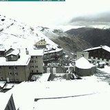 Prima neve di Settembre 2016 - ©Webcam Passo Stelvio
