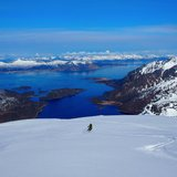 Ski og seil i Lofoten - ©Crister Aalberg Næss