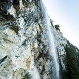 Am Schleier Wasserfall befindet sich eines der bekanntesten Sportklettergebiete Tirols - ©TVB Kitzbüheler Alpen