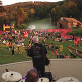 Live music at Bretton Wood's Star Spangled Spectacular. - ©Courtesy of Bretton Woods