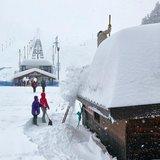 Tanta neve fresca su Alpi e Appennini italiani (23-24-25 Febbraio 2018) - © Prato Nevoso Ski Facebook