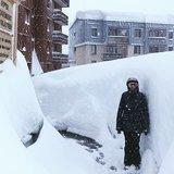 Alpy: 1,5 metra śniegu w 48 godzin - © Instagramm @powder_white