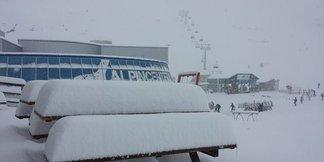 Raport śniegowy: pół metra świeżego śniegu w 24h - ©Kitzsteinhorn