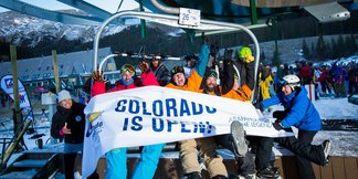 A Few Thousand Colorado Skiers & Riders get Their First Fix