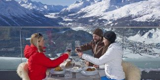 Best lunchtime views - ©Solden Tourism