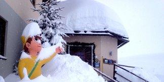 V Rakúsku opäť silno sneží! - ©Heidi-Hotel Falkertsee/Facebook