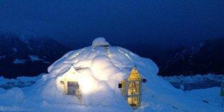 Passeggiare al chiaro di luna tra le vette del Maniva Ski