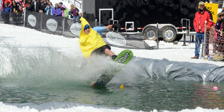 Pond Skimming Season Returns to the Mid-Atlantic ©Seven Springs