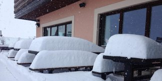 Snehové správy: Skutočne pekná zima je teraz na jar v Alpách - ©Facebook Mottolino Fun Mountain