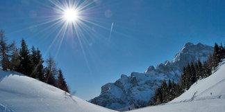 Raport śniegowy: zima wraca - do 130 cm śniegu spadnie w weekend w Alpach ©Corsorzio Belledolomiti