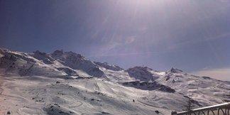 Raport śniegowy: w Alpach wiosenne szusowanie, w weekend niewielkie opady śniegu - ©Val Thorens