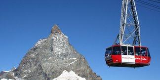 Lenteski: De beste skigebieden voor een skivakantie in mei ©Matterhorn Paradise