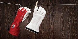 Test af 3 seriøst lækre Hestra handsker ©Hestra