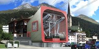 Nowości narciarskie w Szwajcarii: nowe wyciągi, nowe trasy w sezonie 2014/2015 - ©maurusfrei Architekten AG