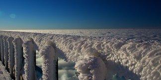 Neve fresca in Slovacchia (Jasna)