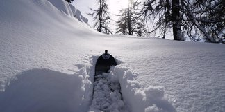 Op til 1 meter nysne i alperne - ©Società Guide Alpine Courmayeur (Facebook)